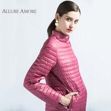 Long Coat Women Parka Spring Jacket Warm Coats Slim Cotton Windproof jacket quilted Allure Amore 2018