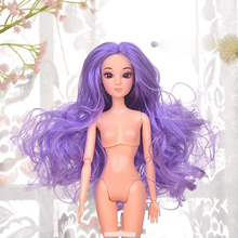 30cm 1/6 BJD Dolls Toys 3D Eye Acrylic Eyes Head Moveable Joints Naked Body Doll Toys For Girl Gift Present 13 moveable joints 1 6 3d eyes bjd doll toys with accessories clothes shoes bag hat fashion figure nake dolls toy for girls gift