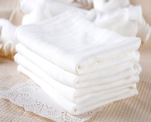 5pcs/lot 100% Cotton Baby Gauze Diapers For Newborn Baby Nappy Changing 60 X 50cm Washable Soft Baby Towels(China)