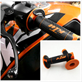 Gel Rubber HandleBar Grip Off-road Motorcycle Dirt Pit Bike Orange For KTM 50 65 85 125 150 200 250 300 400 450 525