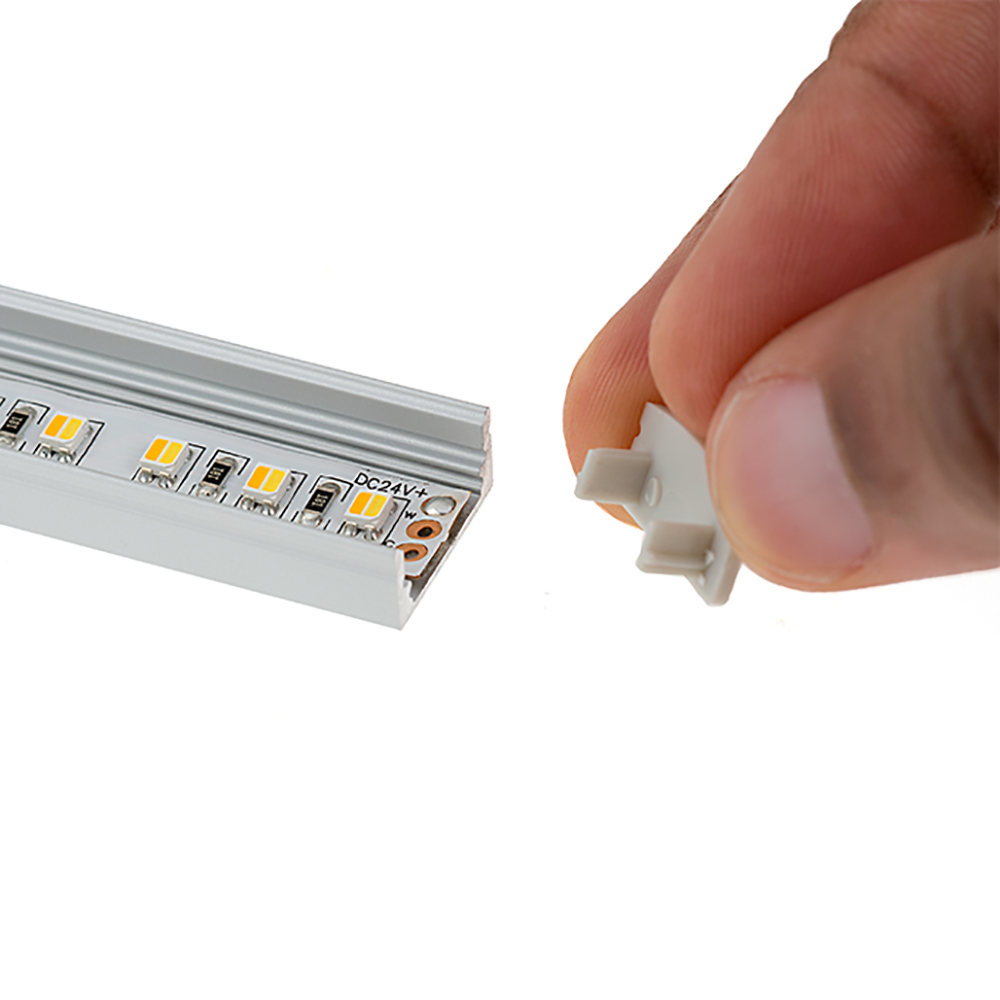 Luzes Led Bar 10 pçs/lote 1 m perfil Material : Aluminum Housing+pc Cover