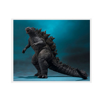 1pc 2019 Gojira Vinyl Doll king of the monsters Figure Model Movable Nucleon doll Cartoon Anime Movie for children 16cm