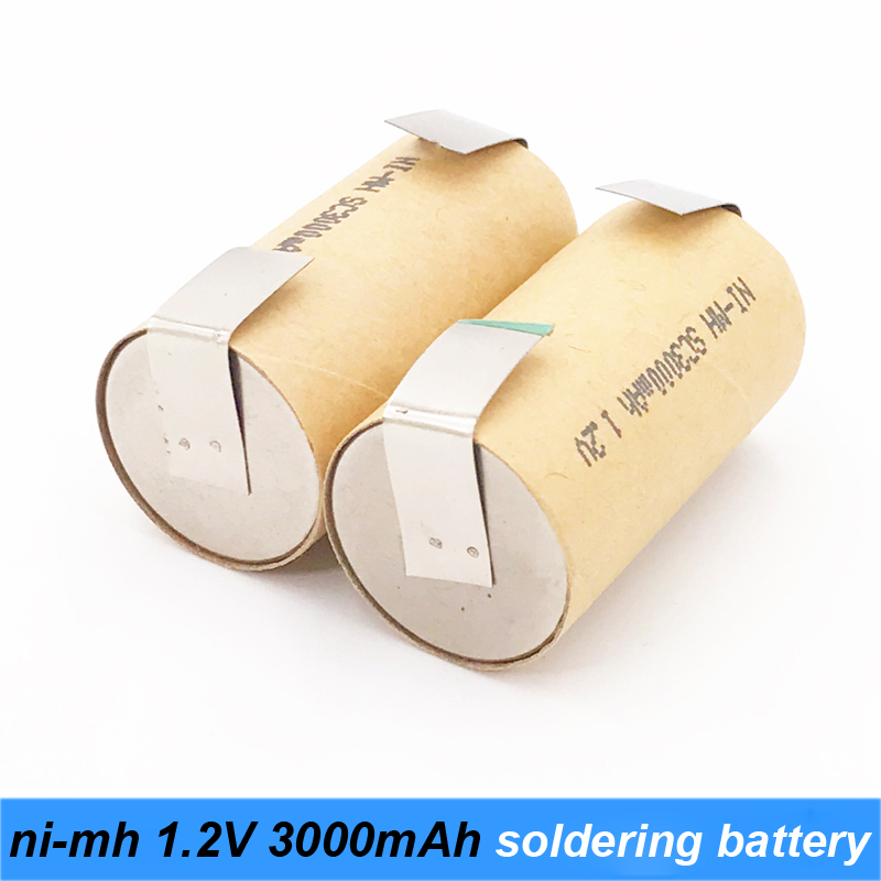 nimh 1.2v battery 3000mah with diy nickel 10c 15c high power rechargeable nimh battery screwdriver  battery robot nimh battery