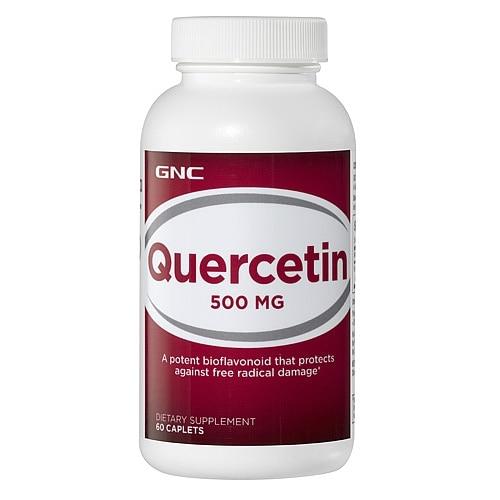 Free shipping Quercetin 500 MG 60 pcs Item #092712 pycnogenol 60 mg supports antioxidant & heart health 60 capsules free shipping