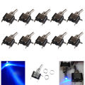 EE suporte 10 Pcs 12 V 20A AMP LED Light Rocker Toggle Switch SPST ON/OFF Acessórios Do Carro de Motor XY01