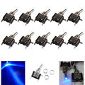 EE support  10 Pcs 12V 20A AMP LED Light Rocker Toggle Switch SPST ON/OFF Motor Car Accessories   XY01