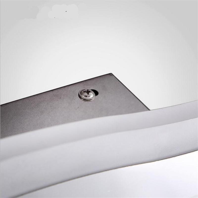 Moderne kurze kreative wellenform wasserdicht acryl led - Innenbeleuchtung - Foto 5