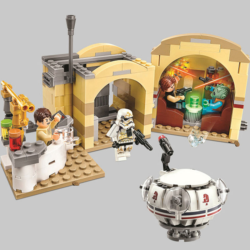 400pcs Bela 10905 Star Wars Series Mos Eisley Cantina Building Block Bricks Toys Compatible With Legoinly kids gift400pcs Bela 10905 Star Wars Series Mos Eisley Cantina Building Block Bricks Toys Compatible With Legoinly kids gift