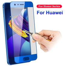 Screen Glass For Huawei Honor 10 9 Lite P Smart Protecor Case For Huawei P9 P10 P20 Mate 10 Lite Honor 9 8 7X 6A 6X 6C Film Glas(China)