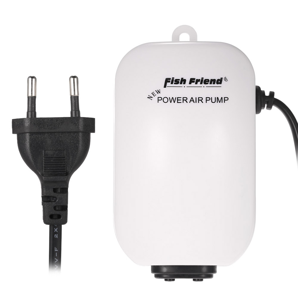2.5W 220V-240V Quiet Aquarium Air Pump Oxygen Pump For Fish Tank