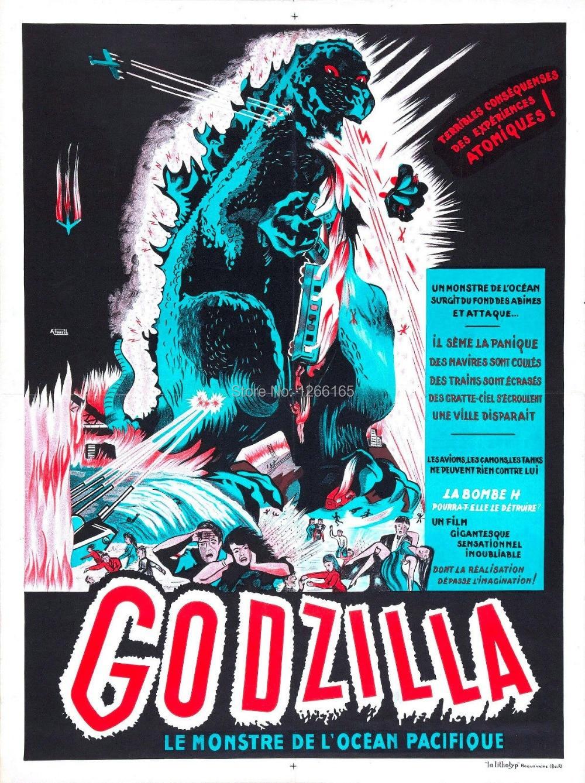 "original title 1954 Movie Poster Godzilla /""Gojira/"""