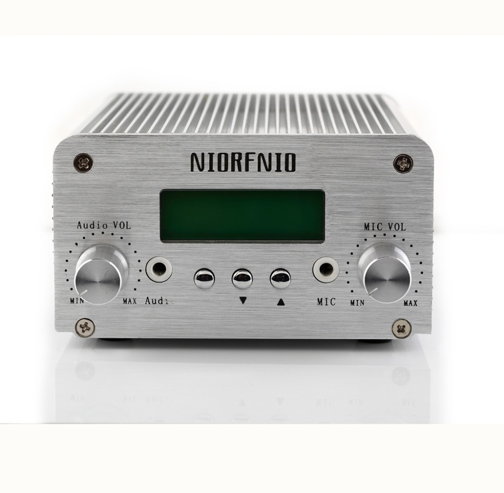 Free Shipping Manufactory Price NIO-T6A 1W/6W Transmissor FM PLL Stereo Radio Transmitter for Radio Station Broadcasting niorfnio 1w 6w pll fm transmitter mini radio stereo station broadcast with lcd display only host for radio y4339d