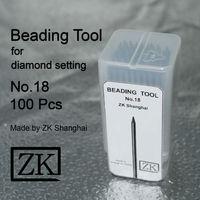 Beading Tools No.18 100pcs Beaders Jewellery Tools Gem Setting