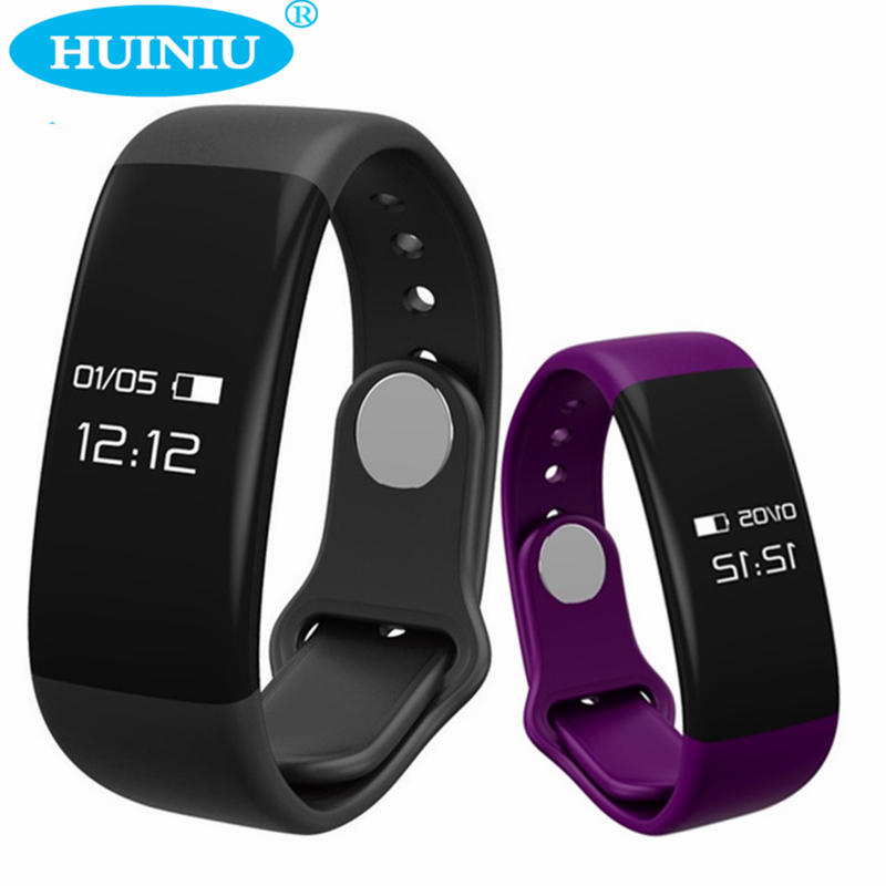 HUINIU H30 Smart Bracelet Band Bluetooth Smartband Heart Rate Monitor Smart Wristband Tracker Fitness Watch for