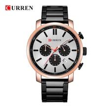 CURREN 2019 Luxury Brand Men Military Sport Watches Men's Quartz Clock Leather Strap Waterproof Date Wristwatch Reloj Hombre стоимость