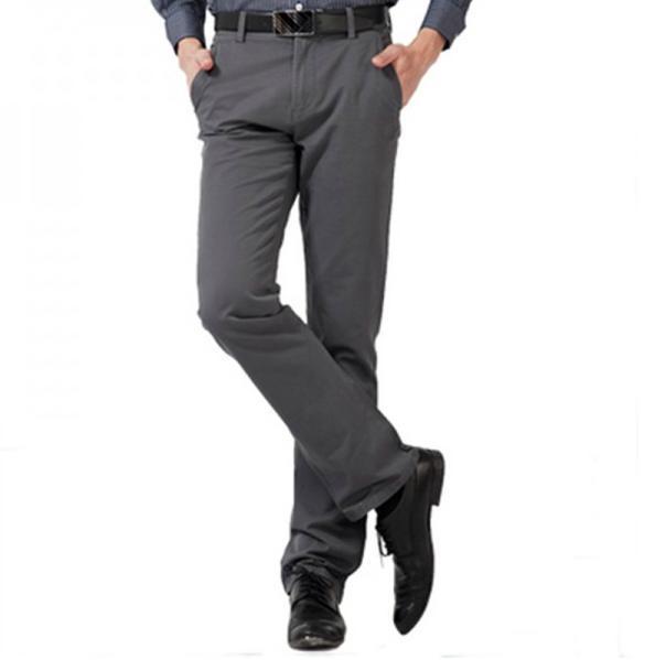 Hot new tamanho grande 29-38 primavera e no outono marca U-SHARK algodão calças masculinas calça casual negócio dos homens selvagem confortável
