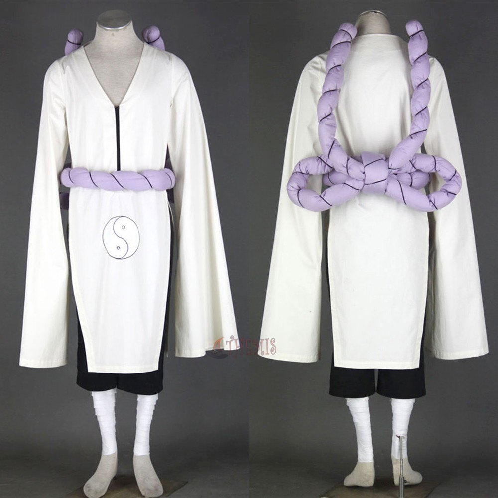 Athemis Anime Kimimaro Naruto Cosplay costume and cosplay clothes custom made