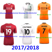 3a1938fd05c 2017 Top Thai AAA quality Best Liverpooles adult Short sleeve Soccer jersey  17 18 Red black 3RD green men shirt Free shipping