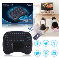 Portable 2.4G Mini Wireless Keyboard With Touchpad Include Rechargeable Li ion Battery For PC Smart TV 140*105*30mm 119g