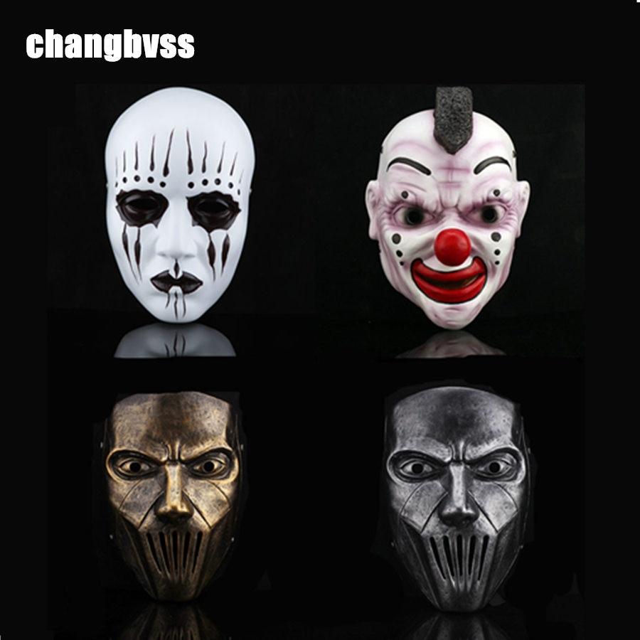 1pcs slipknot joey band resin masks slipknot mask adult cosplay costume props halloween masquerade - Band Halloween Costumes