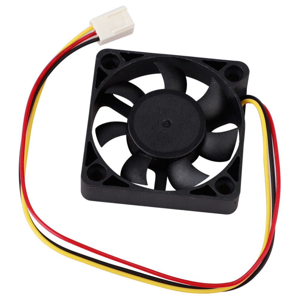 <font><b>50</b></font>*<font><b>50</b></font>*10mm 3Pin CPU <font><b>Cooler</b></font> Fan Heatsinks Radiator CPU Cooling Brushless Fan Ventilador for Computer Desktop PC 12V image