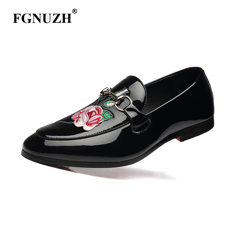 FGNUZH Men Shoes New Fashion Loafers High Quality Cozy Dress Oxfords Shoes Slip On Men Casual Shoes zapatos hombre ST381(China)