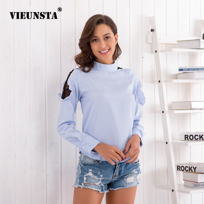 Vest 2pcs Set Female Top High Quality And Low Overhead Women's Clothing 2019 Spring Mesh Sequin Blouse Women Bowknot Lacing Long Lantern Sleeve Shirt Elegant Women Blouse