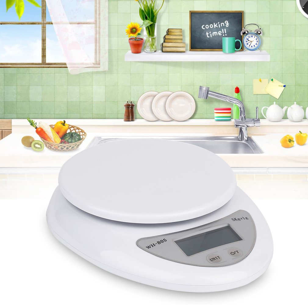 5kg 5000g/1g Digital Kitchen Food Diet Postal Scale Electronic Weight Balance Household Scales High Quality 2019 New