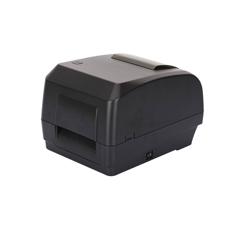 High quality Thermal transfer barcode printer shipping address printer max printer width 108mm for Jewelry tags Clothing label high quality thermal barcode printer electronic surface single printer max print width 108mm barcode printer shipping address