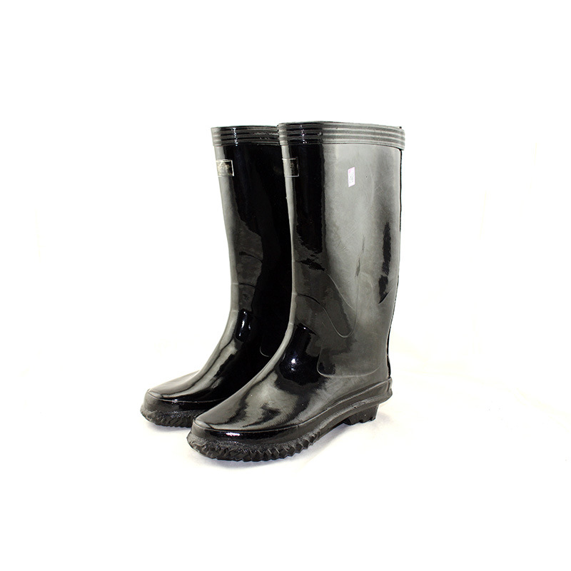 Mens Leather Rain Boots Waterproof Knee High Rubber Shoes Botas for Men  Muck Mud Boots Outdoor| | - AliExpress