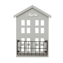 Portable Storage Shelf Decoration Display Holder Mounted Creative House Shaped Wall Useful