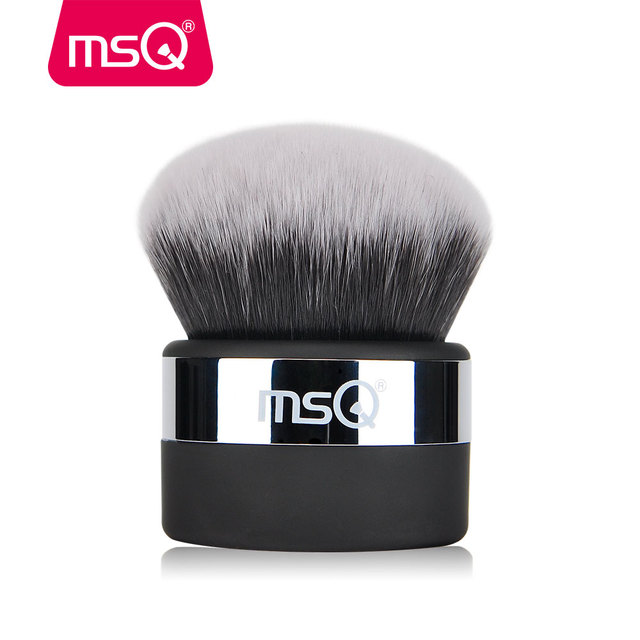 MSQ Professional Powder Makeup Brush 1Pcs Buffer Make Up Brush With Dense High Quality Synthetic Hair For Makeup Tools 1
