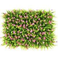 40x60cm Colorful DIY Artificial grass decorative eucalyptus plants flowers for home hotel garden decorative grass mat