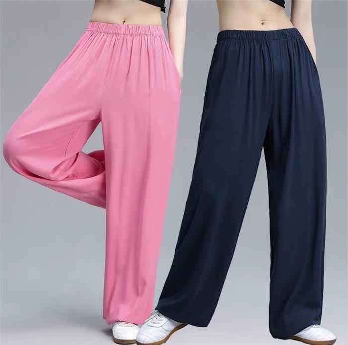 Plus size women Summer cotton linen sport   pants  ,brand thin   pants  ,Joggers Trousers oversize casual Bloom   pants   6xl 7xl