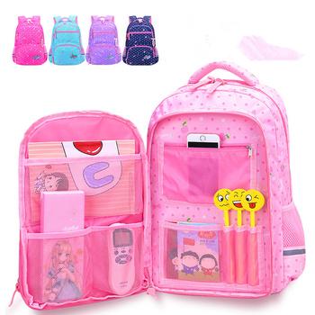 Plecak dla dzieci plecak dla dzieci plecaki szkolne dla dzieci 2021 nowe torby szkolne dla ortopedii wodoodporne plecaki szkolne dla nastolatków tanie i dobre opinie CN (pochodzenie) NYLON zipper Backpack 43inch Dziewczyny 17inch 30inch