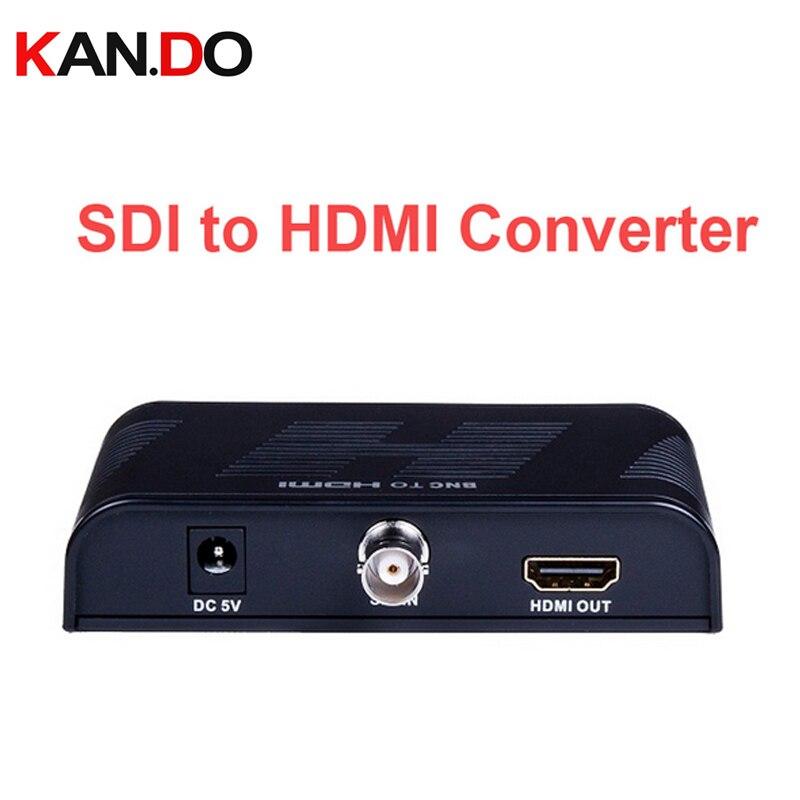 368 SDI input Auto detect resolution of HD-SDI SD-SDI and 3G-SDI SDI to HDMI Converter Support 720P / 1080P-video adapter все цены
