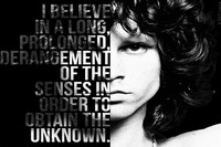The Doors Music Band Jim Morrison Rock Music Poster Motivational Inspirational Poster Fabric Silk Printing Pictures