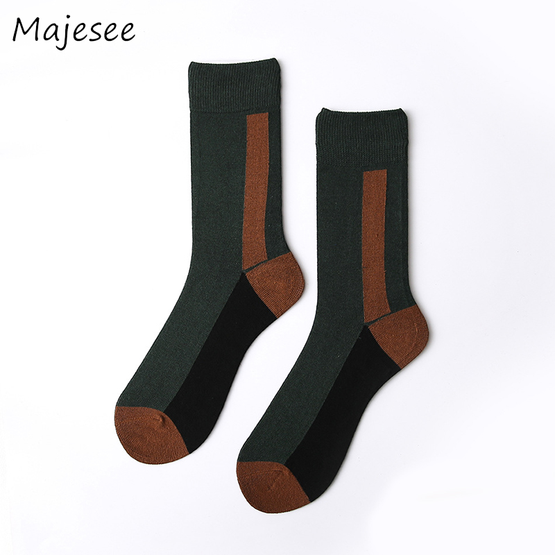 New Fashion Men High Quality Cotton Tube Socks Mens Printing Crew Couple Designed Deodorant Funny Sock Various Colors Breathable
