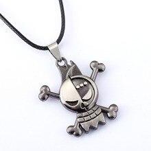 10/pcs/lot ONE PIECE Necklace Franky Anime Pendant Necklace Friendship Men Women Jewelry Choker Accessories YS11321