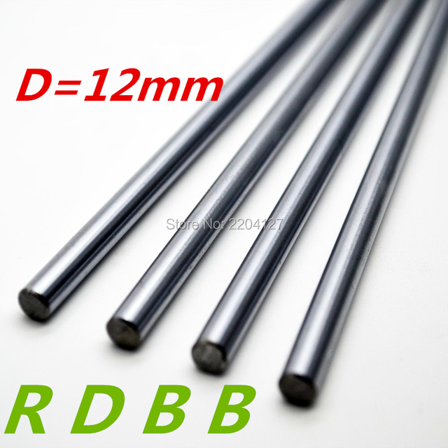 RDBB 12mm linear shaft 150mm Chromed Hardened Rod Linear Motion Shaft cnc parts 3d printer