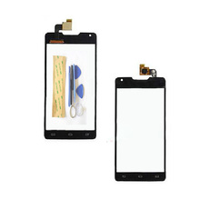 5.0″New Touch Panel Touchscreen For Philips Xenium W6610 W6618 6610 Touch Screen Digitizer Sensor Panel Front Glass +3M sticker