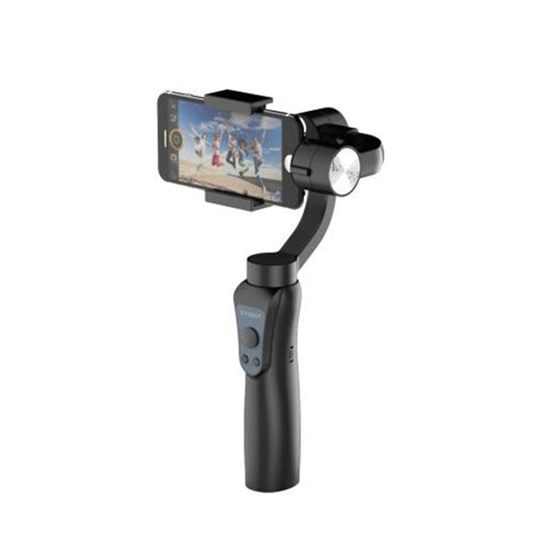 Jcrobot S5 3 оси Ручной Bluetooth Gimbal стабилизатор для смартфонов для GoPro Hero действие Камера