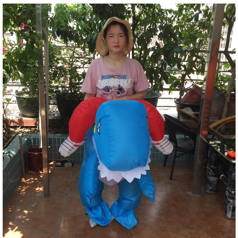 INFLATABLE DINOSAOUR COSTUME (6)