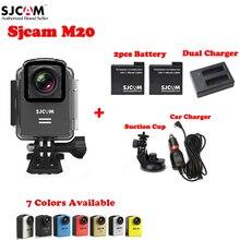 100% Original SJCAM M20 Wifi 30M Waterproof Sports Action Camera Sj Cam DV+2PCS Battery+Dual USB Charger+Car Charger+Suction Cup