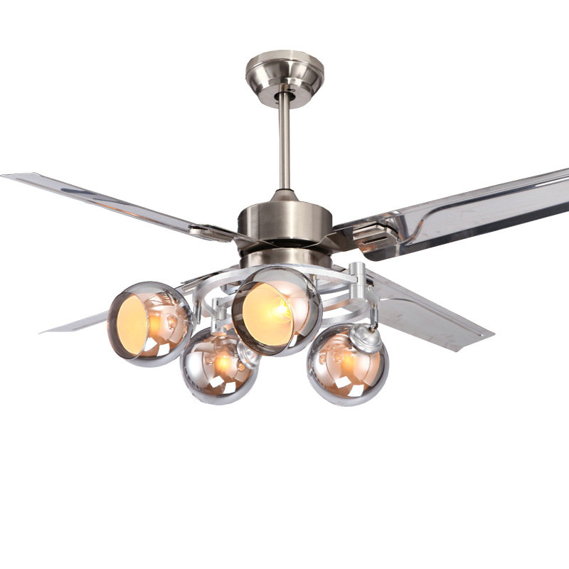 Ceiling fans led jane modern stainless steellamp ceiling fan 42 ceiling fans led jane modern stainless steellamp ceiling fan 42 inch 48 inch 52 inch remote control frequency in ceiling fans from lights lighting on aloadofball Choice Image