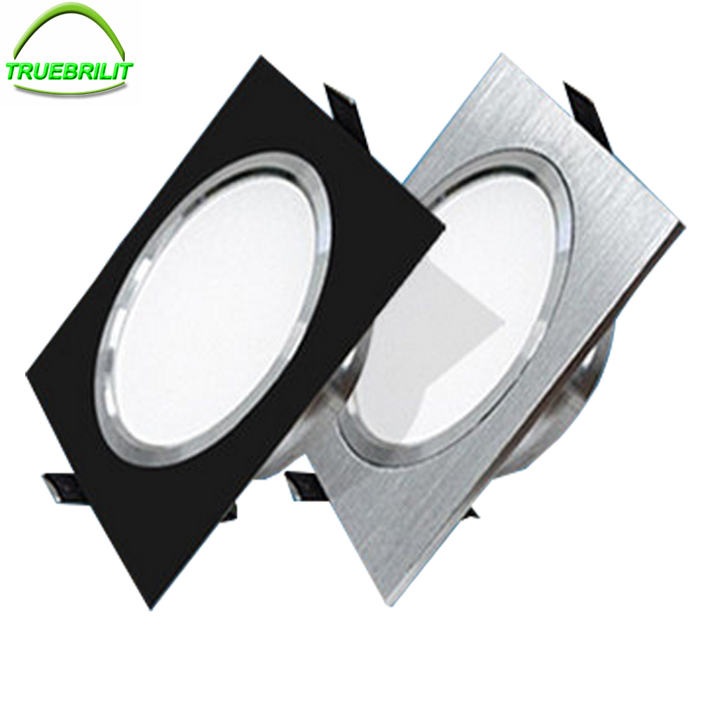 Downlights LED SMD 5730 5W 7W 9W 12W  Ceiling Lamps 110V 220V NON-Dimmable Down Lights Spot Driver Included(China)