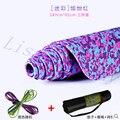 2016 venta caliente 183*61 cm de espesor de 8mm de la mariposa impreso yoga mat principiante antideslizante estera hermosa engrosamiento insípido yoga mat