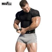 Gym Shorts Men Bodybuilding Skinny Mma Clothing Male Running Basketball Bermudas Surf Compression Tights Sport Shorts