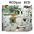 Nuevo Original RCD510 6CD Mecanismo Cargador de CD VP7TDF-18C821 Pickup Óptico para Volkswagen RCD 510