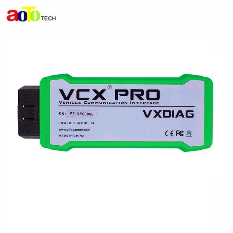 Новое поступление VXDIAG VCX NANO PRO для G-M/F-ord/м-azda/VW лучше, чем Vxdiag nano для G-M DHL Бесплатная доставка